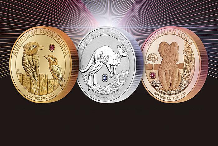 Набор монет «Австралийская трилогия»