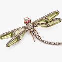 Изящество и символизм стрекоз в ювелирных изделиях