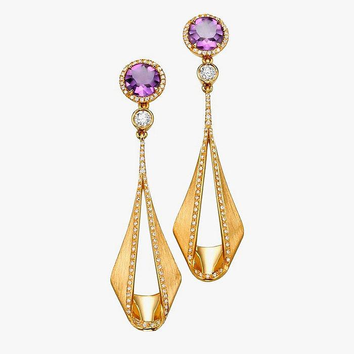 Пара серег из коллекции Pliage от Padani Jewelry