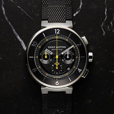 Часы Tambour Moon от Louis Vuitton