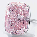 37-каратный розовый бриллиант выставят на продажу