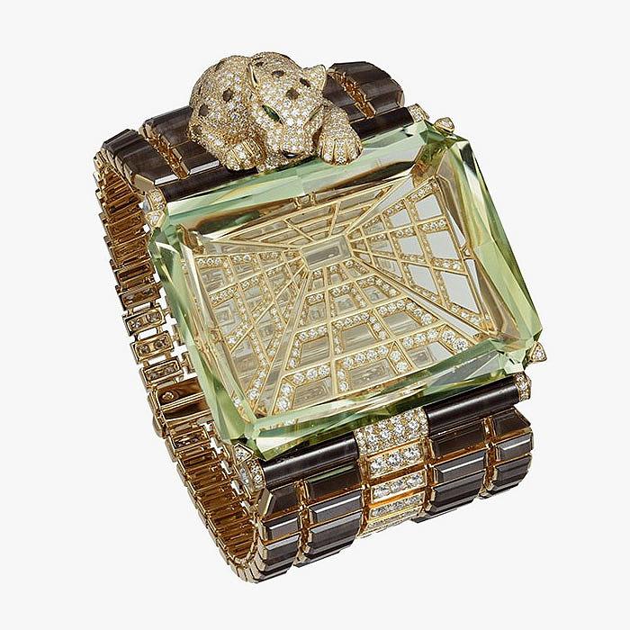 Браслет Panthère Narcisse от Cartier с турмалинами и бриллиантами