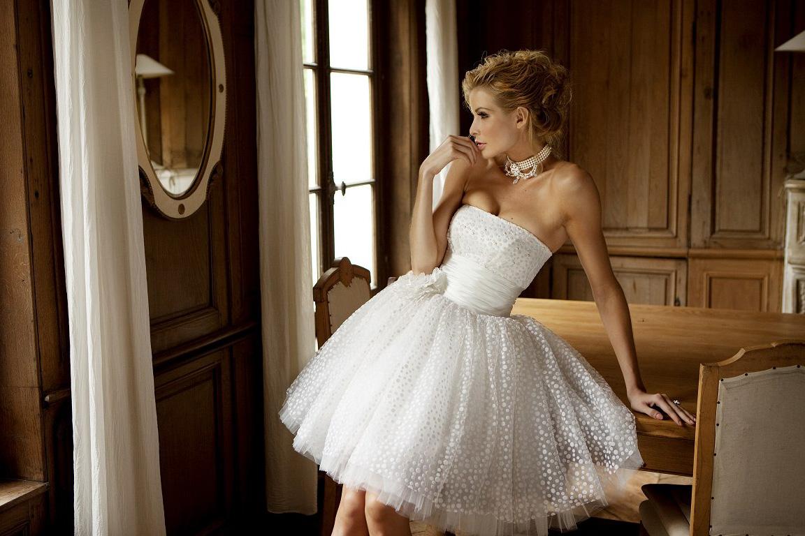 090d17edaf2173b Короткие свадебные платья — Jewellery Mag
