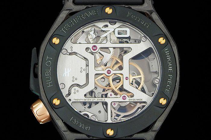 Часы Hublot Techframe Ferrari 70 Years Tourbillon Chronograph