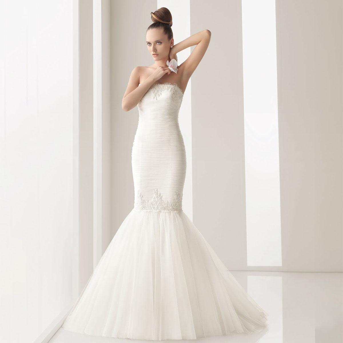 058f5ab6e34 Свадебное платье Русалка — Jewellery Mag