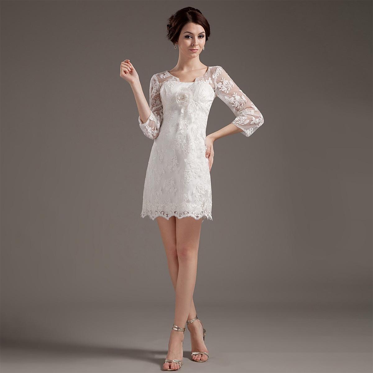 eaea313c798 Короткие свадебные платья — Jewellery Mag