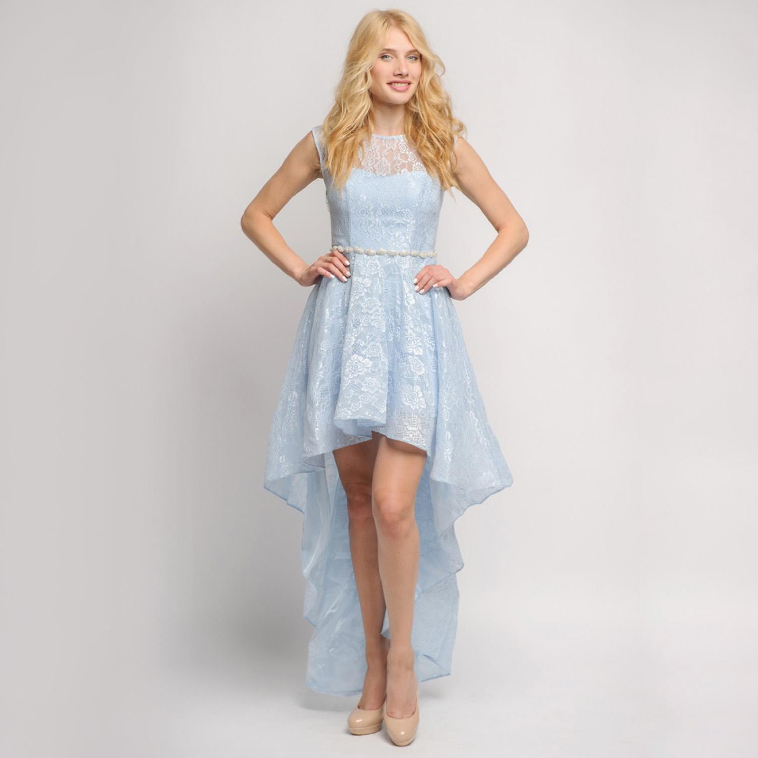 b3e162d4232e609 Свадебное платье спереди короткое, а сзади длинное