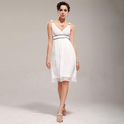 Фото короткого платья в греческом стиле