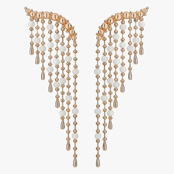 Серьги из золота из коллекции Romance от Carla Amorim