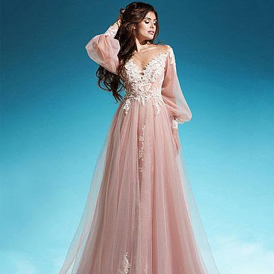 Свадебное платье в стиле 80-х годов