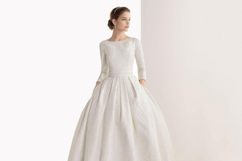 Свадебные платья с длинными рукавами — Jewellery Mag