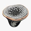 Кольцо с цирконами и шпинелью от Bohemme