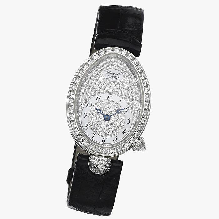 Женские ювелирные часы с бриллиантами Reine de Naples от Breguet