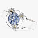 Часы в золоте с бриллиантами и сапфирами от Champs Elysées