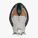 Брошь в виде императорского пингвина от Tiffany & Co