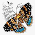Брошь-бабочка из коллекции California Reverie от Van Cleef & Arpels