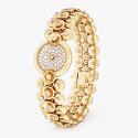 Часы Van Cleef & Arpels в корпусе из желтого золота с бриллиантами