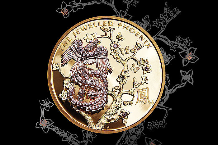 Монета Jewelled Phoenix