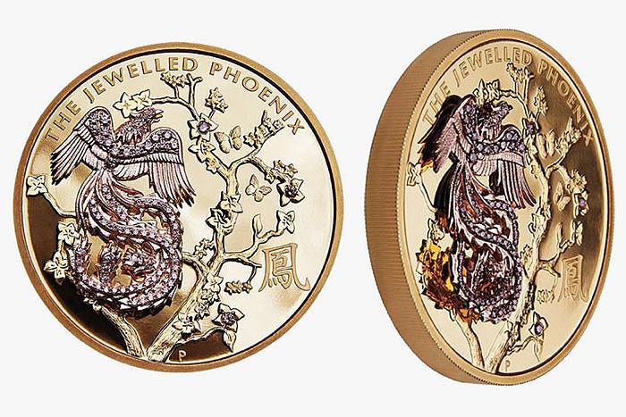 Монета Rio Tinto и Perth Mint — Jewelled Phoenix