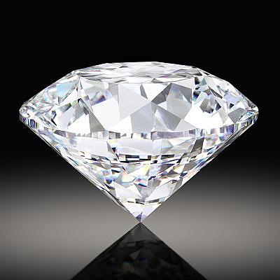 Бриллиант в 102 карата огранен из алмаза весом 425 карат
