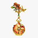 Часы-подвеска G. Braillard: золото, эмаль и бриллианты