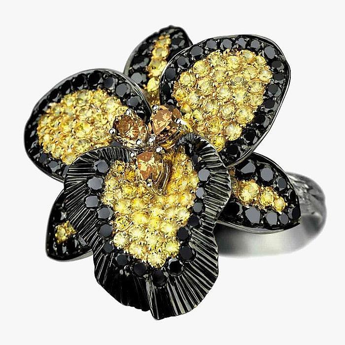 Кольцо Gracious Spirit с бриллиантами от Orianne Collins
