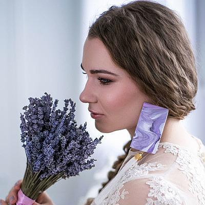 Необыкновенные цветы в свадебных аксессуарах Юлии Васильевой