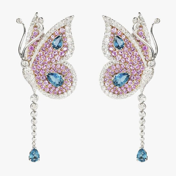 Серьги-бабочки от Armaggan Jewelry
