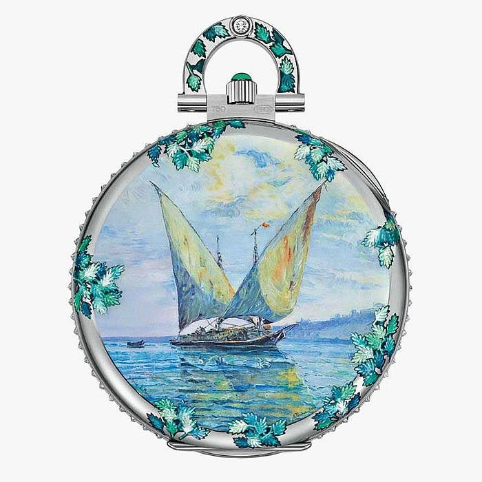 Карманные часы «Рассвет на озере» от Patek Philippe