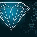 Стартап с бриллиантовой криптовалютой получил 1,6 миллиона долларов
