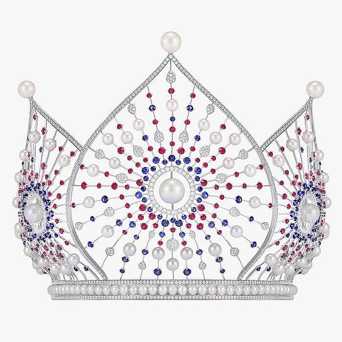 Корона Mercury для конкурса «Мисс Россия» 2018 года