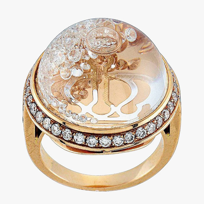 Кольцо Stars of Africa с бриллиантами от Royal Asscher.