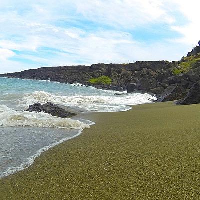 Гавайский вулкан извергает драгоценные камни