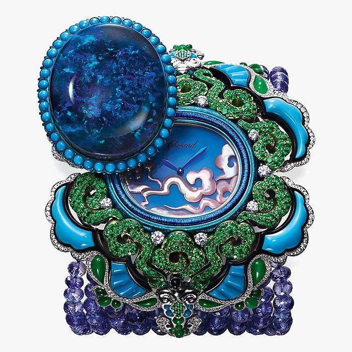 Уникальные ювелирные часы Chopard