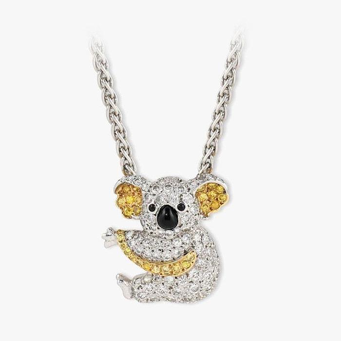 Подвеска-коала с ониксом и бриллиантами от Graff