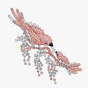 Брошь Graff с бриллиантами общим весом 23,63 карата