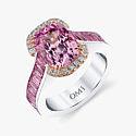 Кольцо «Монако» от Omi Privé с бриллиантами и сапфирами