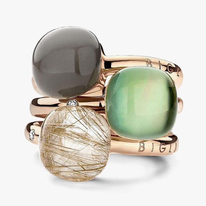 Кольца Mini Sweety от Gianfranco Bigli