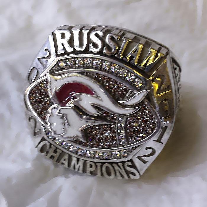 Чемпионский перстень Moscow Patriots. «Бокадо».