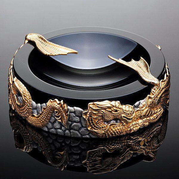 Пепельница, сигарный набор «Драконы», Бокадо