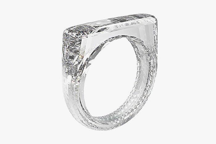 Project D — кольцо из алмаза, выращенного в лаборатории