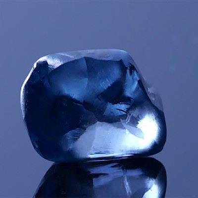 20-каратный голубой бриллиант представлен в Ботсване
