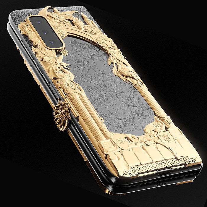 Samsung Galaxy Fold с дизайном Caviar в стиле «Игры престолов»