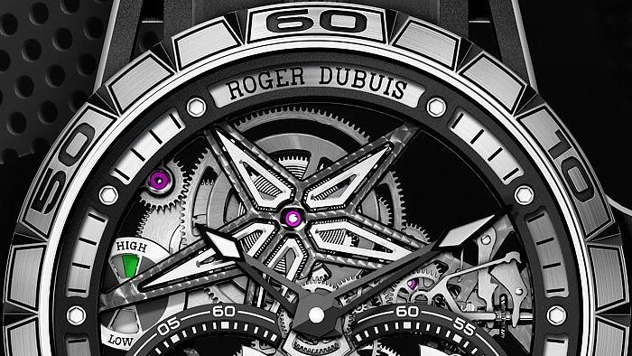 Часы Roger Dubuis Excalibur Pirelli Ice Zero 2