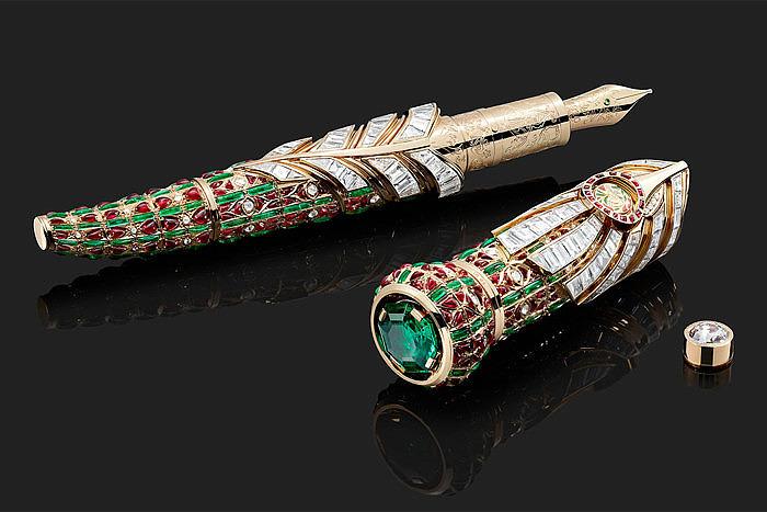 Montblanc вдохновляется Тадж-Махалом и традициями династии Моголов