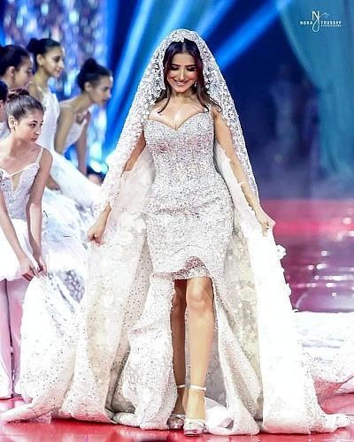 Свадебное платье Хани Эль Бехари