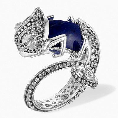 Необычные кольца-хамелеоны с заменяемым камнем от Annoushka