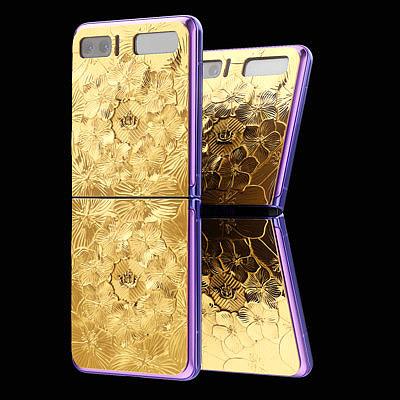 Caviar Samsung Galaxy Z Flip Golden Violet