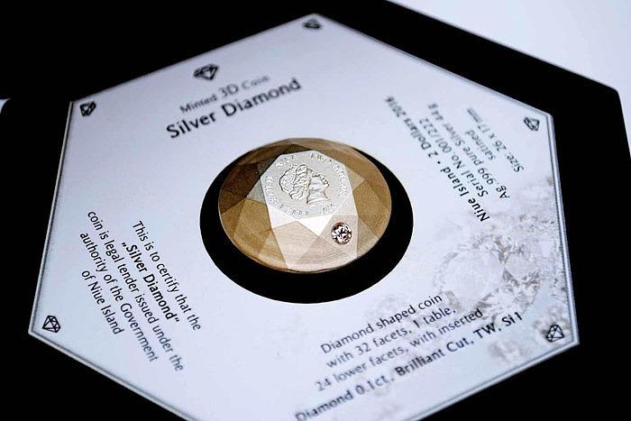 «Бриллиантовая» монета канадского монетного двора