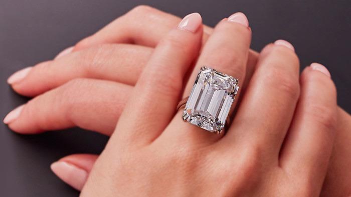 Крупнейший бриллиант, выставленный онлайн, может достигнуть цены в2млн долларов